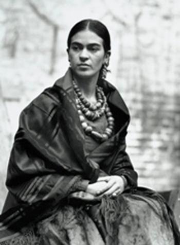 Frida Kahlo by Edward Weston