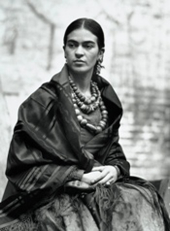 Frida Kahlo by Edward Weston