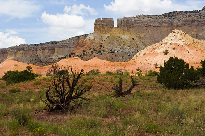 Ghost Ranch Hills by Jim McKinniss