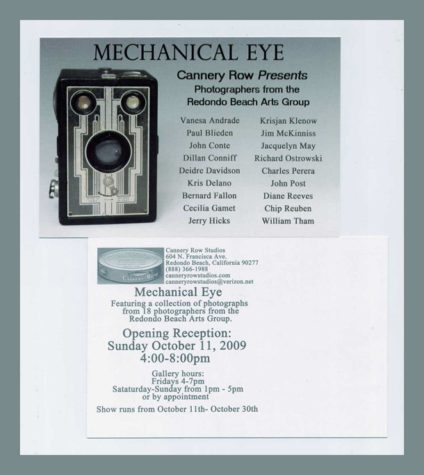 Mechanical Eye