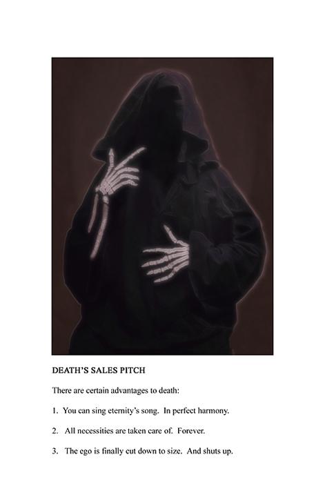 """Death's Sales Pitch"" copyright by Stan Kuran"