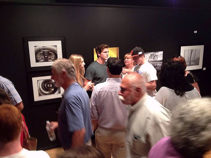 BC Space reception - Photographs Exchange Exhibition_4