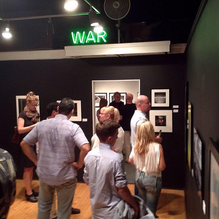 BC Space reception - Photographs Exchange Exhibition_5