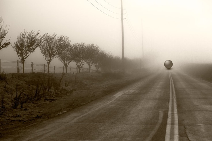 Jim McKinniss_Sphere on the Road Ahead